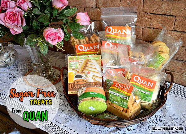 A Taste Of Quan's New Sugar Free Delicacies