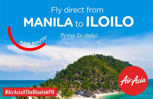 Win Iloilo-Manila Round Trip Ticket Courtesy Of AirAsia Philippines