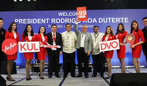 AirAsia Strengthens Davao As A Gateway City With Direct Flights To Kuala Lumpur From Php 99