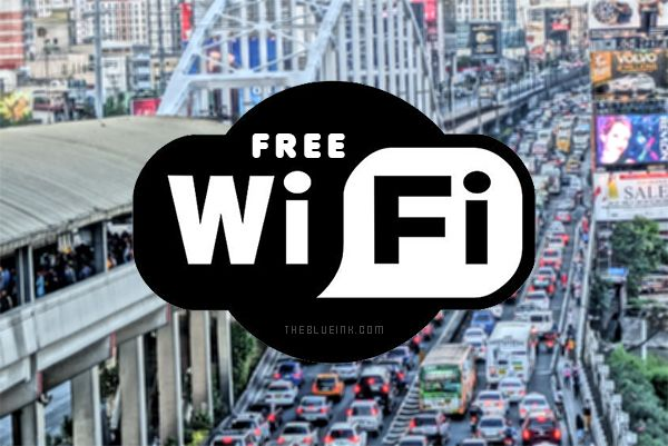Accessing The Internet Via Edsa Free Wifi