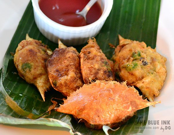 Relyenong Alimasag - Delicious Native Dishes at L'Fisher Chalet Restaurant