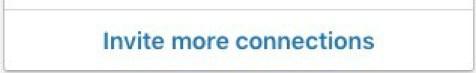 LinkedIn Invitation Button and Feature