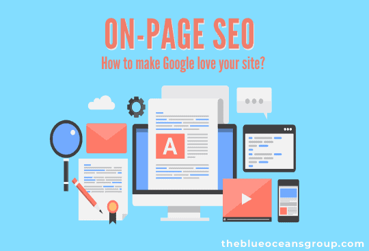 On-Page SEO Infographic- Optimize your site to rank on Google