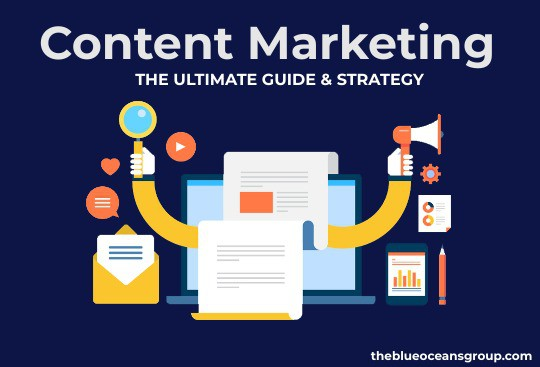 Content Marketing: The Ultimate Guide & Strategy by The Blue Oceans Group