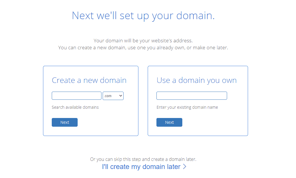 Bluehost Domain - %title%- The Blue Oceans Group