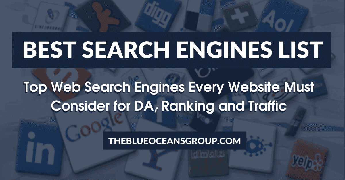 Best Search Engines List_ Every Website must consider for DA, Ranking and Traffic