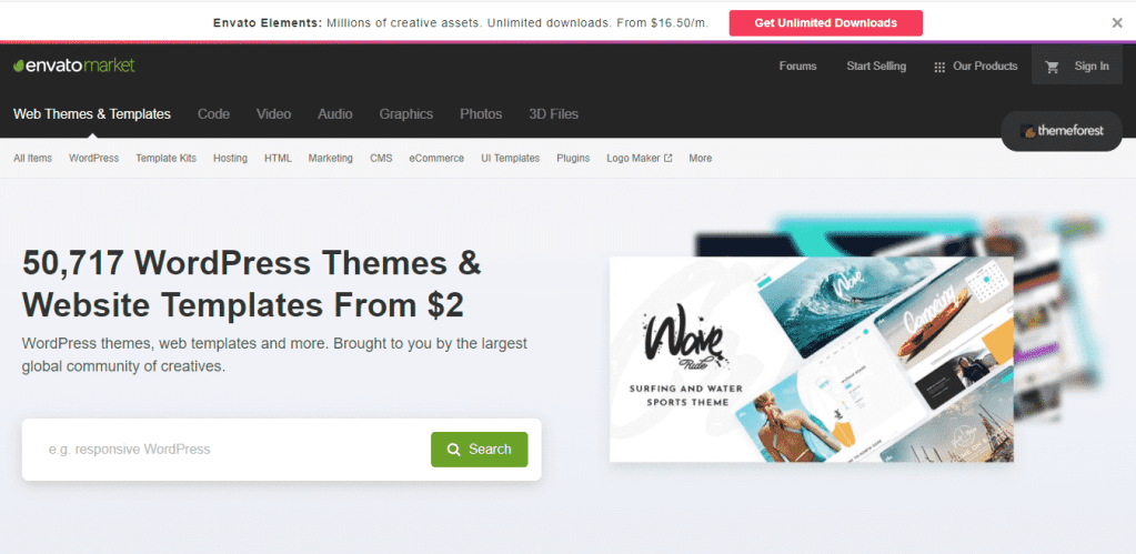 Themeforest - %title%- The Blue Oceans Group