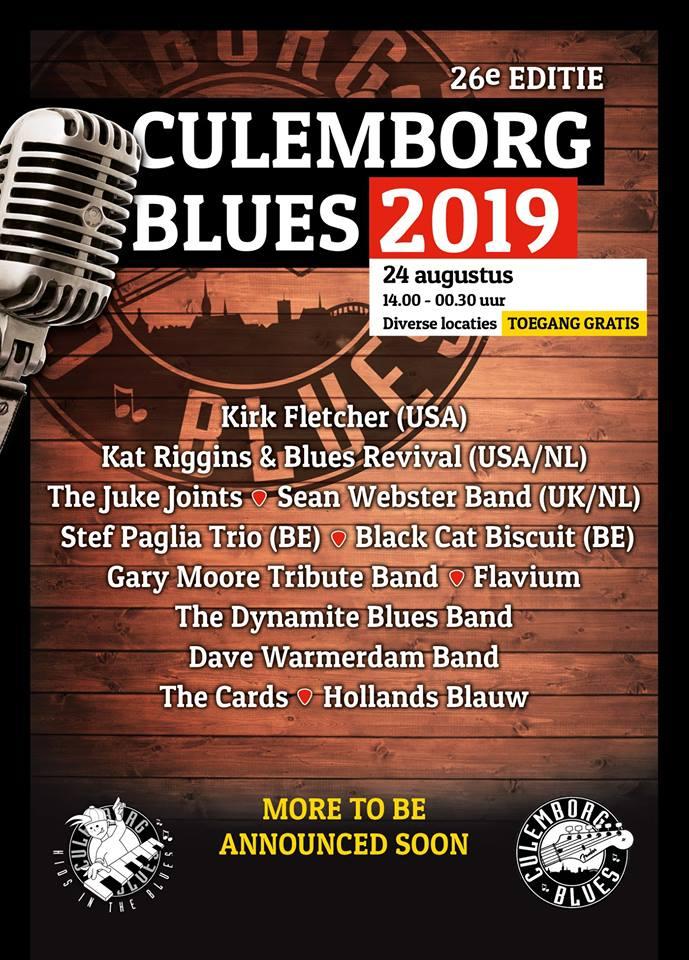 Culemborg-Blues-2019-poster