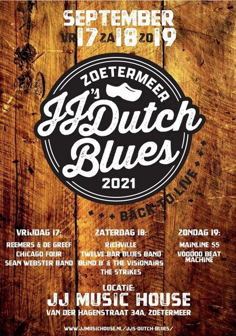 JJ's DUTCH BLUES 2021 ( TUSSEN DE TEKST)
