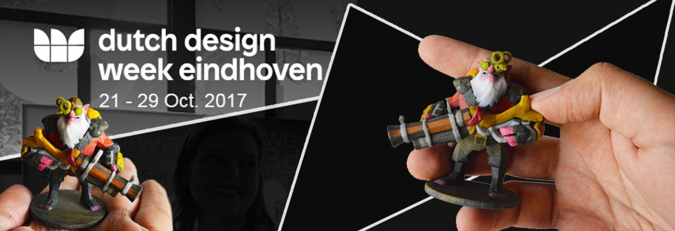 Our sniper goes to Dutch Design Week