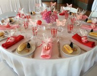 Party table setting - The Boatshed VenueThe Boatshed Venue