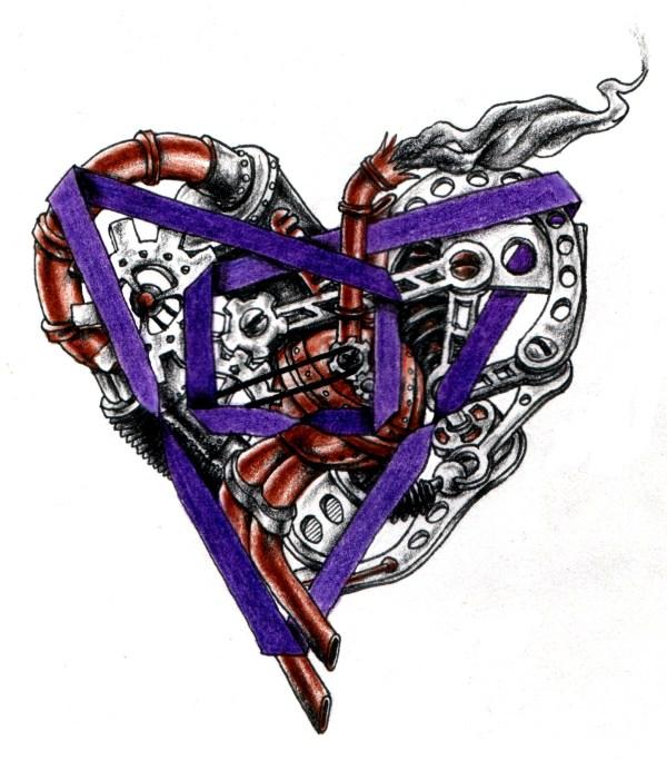 Steampunk Heart Tattoo Designs