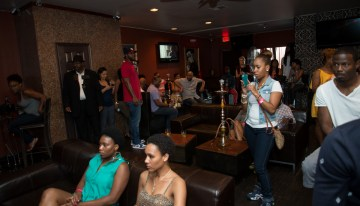 Guests enjoy music, performances and HOOKAH! Thank you Skyline Hookah.