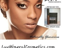 DC Singer Reesa Renee Launches Luv Mineral Cosmetics Collection