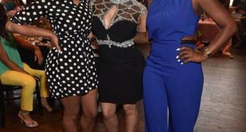 Latavia, Tiny and 702's Meelah Williams. Meelah was also castmates with LaTavia on R&B Divas Atlanta.