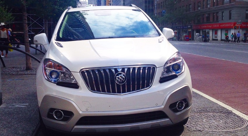 Driving the 2015 Buick Encore [REVIEW]
