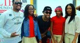 Ty Dolla $ign, Raheem DeVaughn & Kitchen Cray Take Healthy Eating to DC High School [PHOTOS]