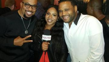 Anthony Anderson Hosts Star-Studded Super Bowl Kick-Off at Peli-Peli Galleria [VIDEO]