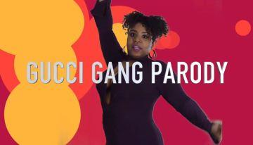 Lil' Pump Gucci Gang Parody: Curly Gang [VIDEO]