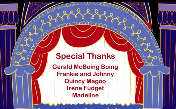 Special Thanks Credit