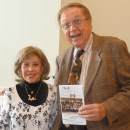June Foray & Carl Bell, two former Motion Picture Academy Animation Branch chairs, at the UPA Tribute. Carl is holding his collectible souvenir UPA Tribute program.