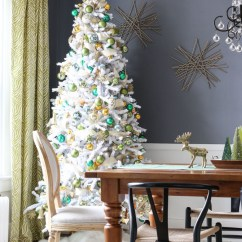 Pictures Of Living Room Decorated For Christmas Modern Picture Gallery 8 Beautifully White Trees