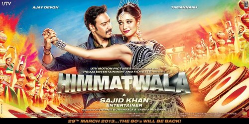 Himmatwala : lacks sparkle & shine with its dull comedy and immature humour !
