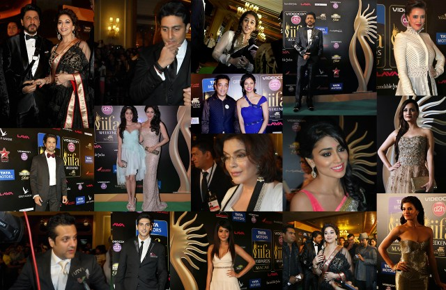 The STARS on the Green Carpet at the IIFA Awards 2013