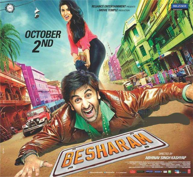 Besharam Review: fails to impress!