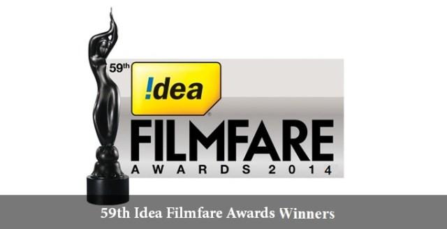 Filmfare Awards 2014 : List of winners