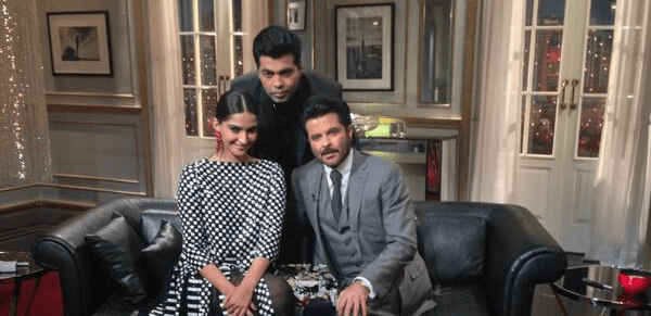 Koffee with Karan : The Anil Kapoor & Sonam Kapoor Interview