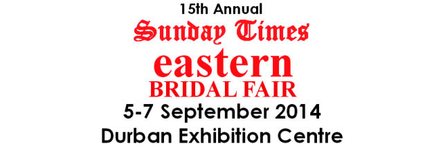 Sunday Times Eastern Bridal Fair Competition 2014