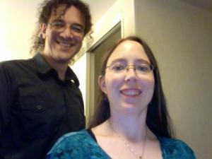 John Lawson and Jennifer Barnes of Raw Dog Screaming Press.
