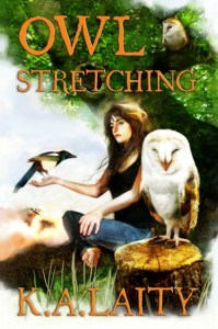 Owl Stretching, by K.A. Laity
