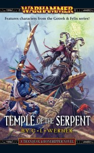 Temple of the Serpent, by CL Werner