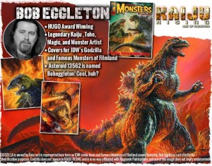 Bob Eggleton, the last unlockable KickStarter tier.