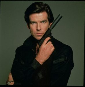 01 Jan 1995 --- PIERCE BROSNAN AS 'JAMES BOND' --- Image by © O'NEILL TERRY/CORBIS SYGMA