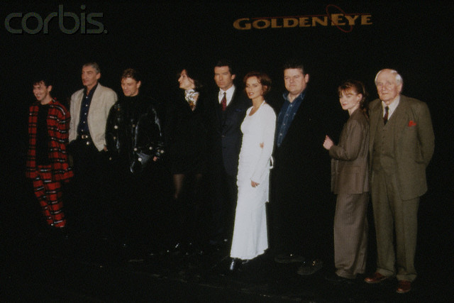 22 Jan 1995 --- THE NEW JAMES BOND 'GOLDENEYE' BY MARTIN CAMPBELL --- Image by © Andrew Murray/Sygma/Corbis