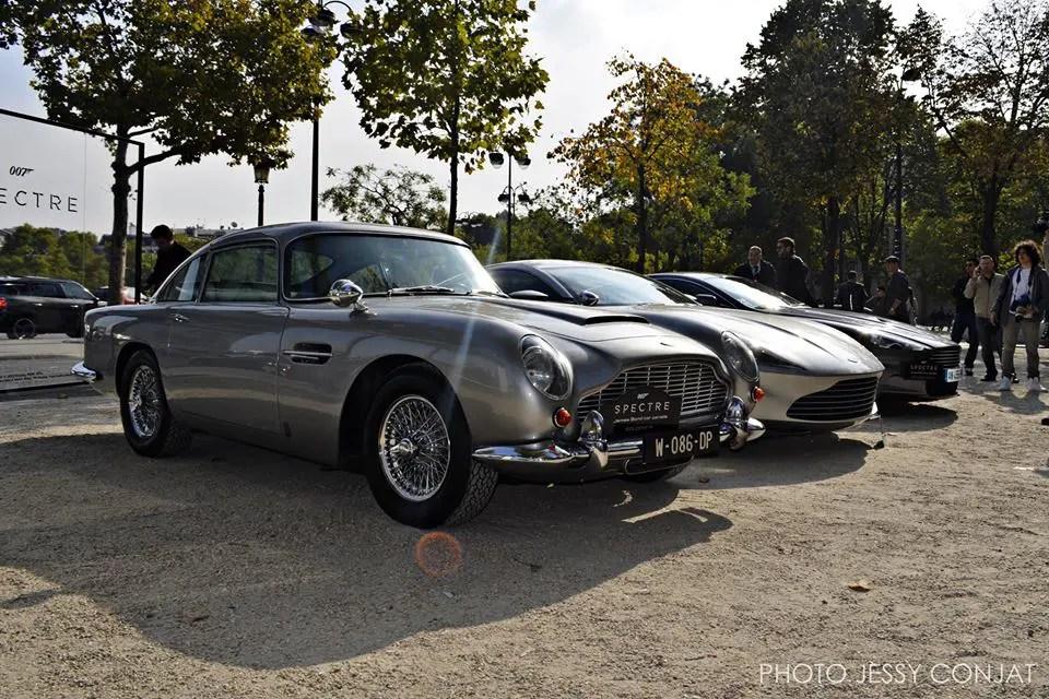 bond cars paris
