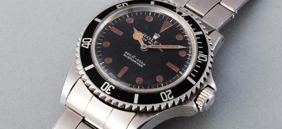 """Live and Let Die"" Rolex auctioned in Geneva"