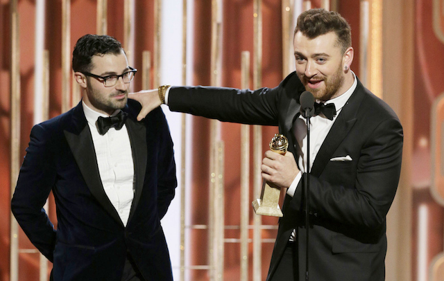 Sam Smith wins Golden Globe for Best Original Song
