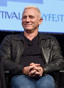 Daniel Craig on stage at the New Yorker Festival - Photo: Getty Images