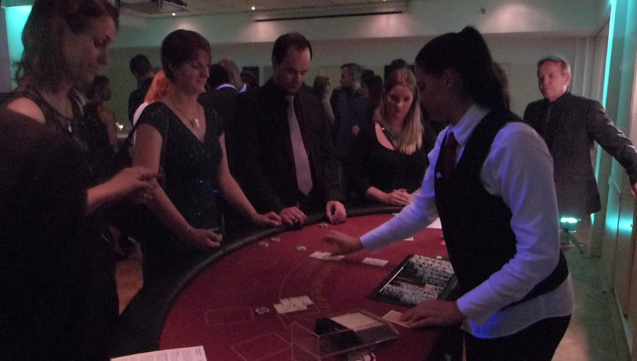 Blackjack at the Aftershow Party