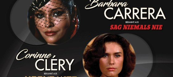 Barbara Carrera and Corinne Cléry to attend Cineways Filmfestival in Germany