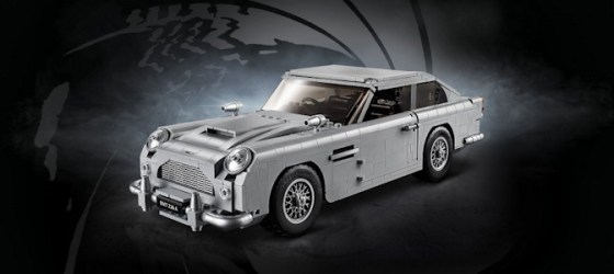 Lego launches Aston Martin DB5