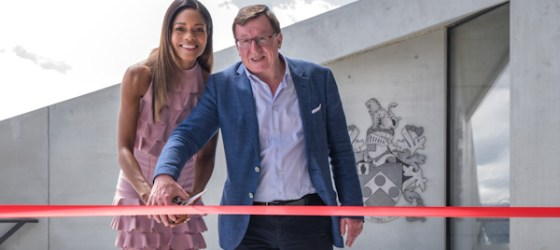 Naomie Harris officially opens 007 Elements in Soelden