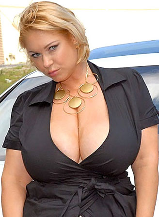 Busty Blonde MILF With Huge All Natural Tits