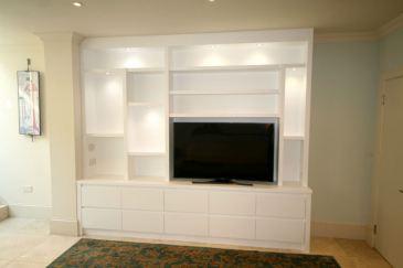 media bookcase