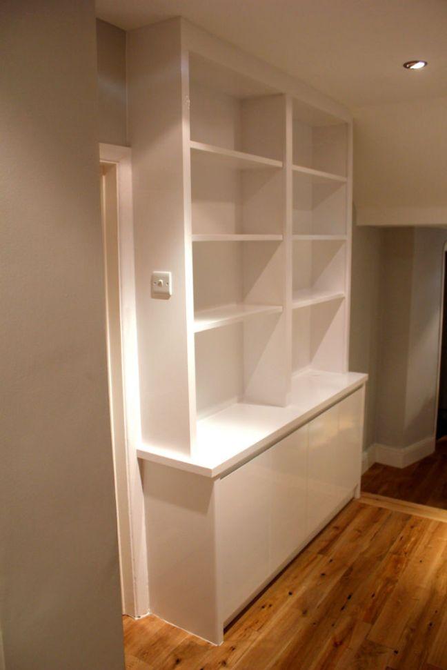 bespoke bookcases wimbledon