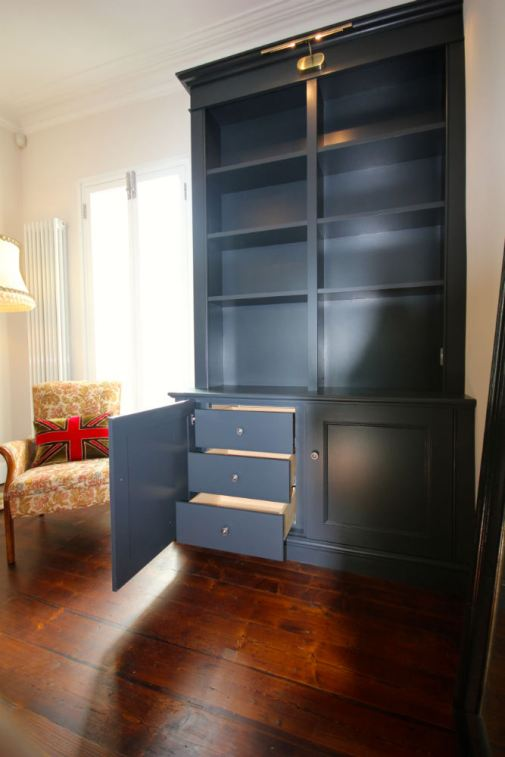fitted bookcase